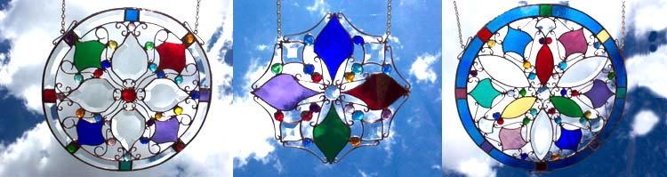 Click to View our Glass Mandalas Gallery at WaterPrisms.com