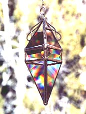 Pendant 6 with a beveled band