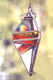 The Hot colors on our Pendant 6 Water Prism