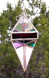 The Rainbow colors on our Pendant 6 Water Prism