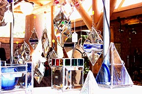 Water Prisms, Glass Boxes and Candleholders